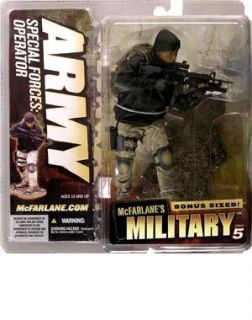 McFarlane MILITARY Series 5 ARMY Special Forces Operator Ethinc