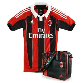BNWT Adidas AC Milan 2012 13 Home Authentic TECHFIT Soccer Jersey