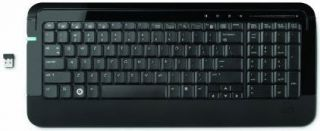 HP Ultra Thin Wireless Keyboard BK114AA Link 5 Micro USB Receiver