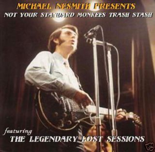 Mike Nesmith Presents The Lost Sessions RARE CD