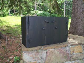 Primitive Handcrafted Wall Cupboard Millcreek
