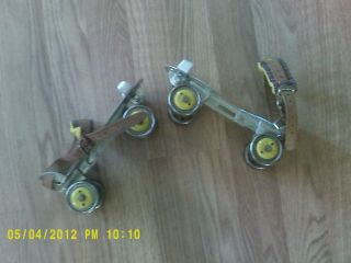 Vintage Roller Skates Union Hardware Co TORRINGTON Conn Nice