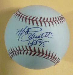 Mike Schmidt Signed Philadelphia Phillies Baseball HOF