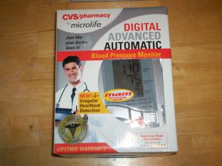 CVS microlife DIGITAL ADVANCED AUTOMATIC BLOOD PRESSURE MONITOR model#