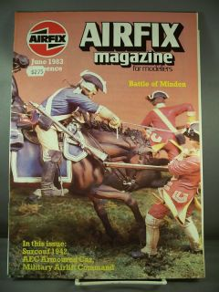 Airfix Magazine Vol 24 10 June 1983 Battle Minden