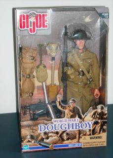 JOE WWI DOUGHBOY MILITARY ACTION FIGURE SET IN MINT CONDITION