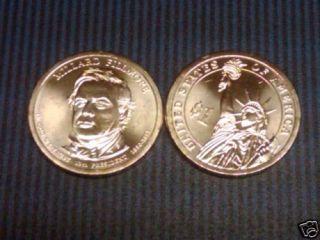 Millard Fillmore Golden President Dollar D Mint Coin