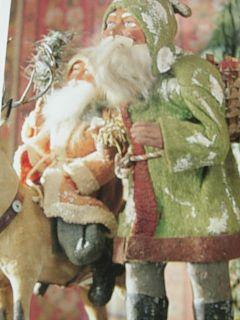 Vintage Santa Claus Collection Folk Art Christmas Volume Two