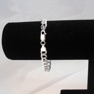 Sterling Silver Charm Bracelet 7 5 Authentic Italy 925 Beautiful