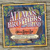 American University 12 13 70 by Allman Brothers Band The CD, Jul 2005