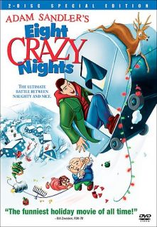 Adam Sandlers Eight Crazy Nights DVD, 2003, 2 Disc Set, Special