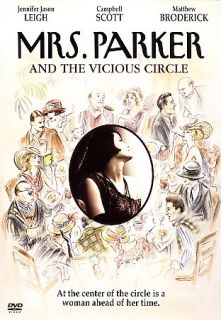 Mrs. Parker and the Vicious Circle DVD, 2006, Special Edition