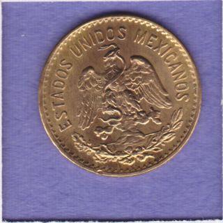 Gold 5 Cinco Peso Coin .12 OZ AGW KM# 464 Miguel Hidalgo y Costilla