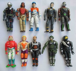 Lot of 10 The Corps Lanard Military Army Action Figure 3 75