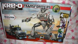 Kreo KRE O Building SET Transformers mini fig MEGATRON BUILD TRUCK OR