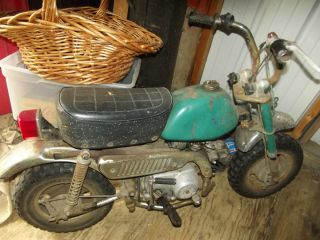 honda z50 monkey bike mini trail minitrail dirt bike parts restore