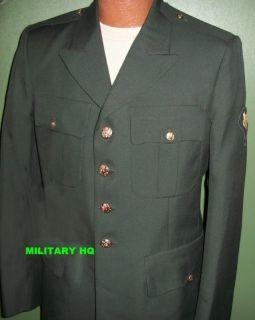 US Army Class B Dress Uniform Jacket 43L