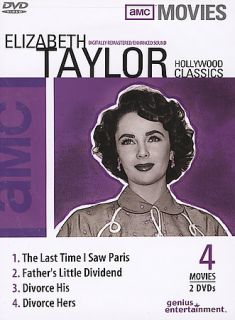 AMC   Hollywood Classics Elizabeth Taylor DVD, 2004, 2 Disc Set