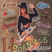 14 Corridos con Banda, Vol. 1 CD, May 2000, Sony Music Distribution