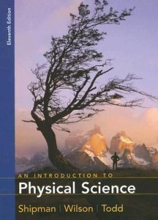 An Introduction to Physical Science by Jerry D. Wilson, James T