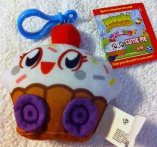 Plush CUTIE PIE w Secret Code Mind Candy Cute Cupcake Foodie New