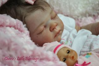 Reborn Doll Baby Girl Serah Adrie Stoete Anatomically Correct