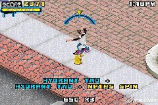 Tony Hawks Underground 2 Nintendo Game Boy Advance, 2004