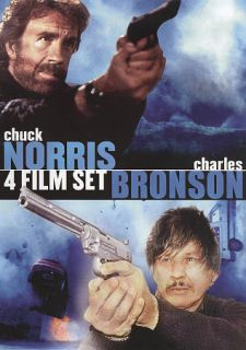 Chuck Norris Charles Bronson 4 Film Set DVD, 2010
