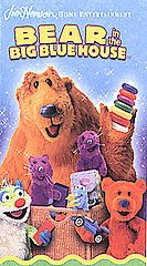 Bear in the Big Blue House   Tidy Time With Bear VHS, 2002