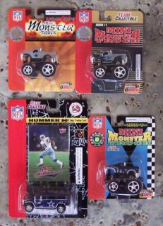 Dallas Cowboys 3 Mini Monster Trucks Mini Hummer