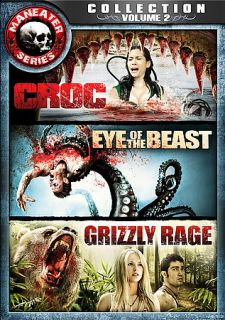 Maneater Series Collection Vol 2   Croc, Eye of the Beast, Grizzly