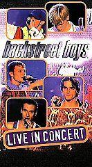 Backstreet Boys   Live in Concert VHS, 2000