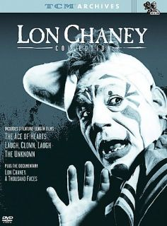 TCM Archives   The Lon Chaney Collection DVD, 2003, 2 Disc Set, Digi