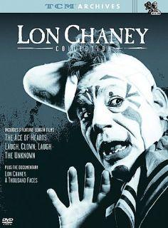 TCM Archives   The Lon Chaney Collection DVD, 2003, 2 Disc Set, Digi