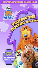 Bear in the Big Blue House   Visiting the Doctor with Bear VHS, 2005
