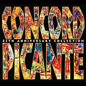 Concord Picante 25th Anniversary Collection Box CD, May 2005, 4 Discs