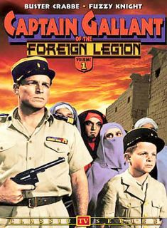 Captain Gallant of the Foreign Legion   Vol 1 Classic TV Series DVD