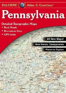 Pennsylvania by DeLorme Map Staff 2004, Map, Other