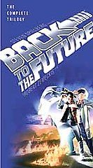 Back to the Future The Complete Trilogy VHS, 2002, 3 Tape Set