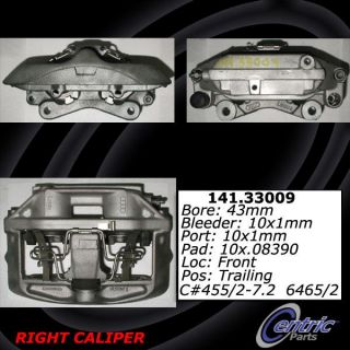 Centric Parts 141.33009 Disc Brake Caliper