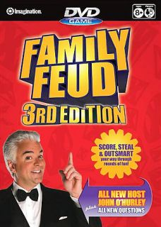 Family Feud   3rd Edition DVD Game DVD, 2007