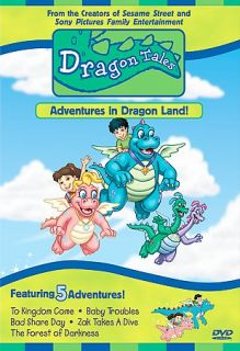 Dragon Tales   Adventures in Dragon Land DVD, 2000, Closed Captioned