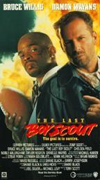 The Last Boy Scout VHS, 1995