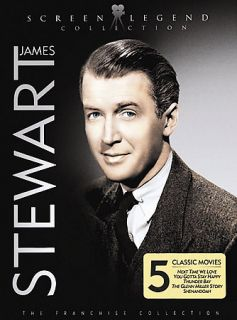 James Stewart Screen Legend Collection DVD, 2007, 3 Disc Set