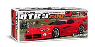 HPI Racing Nitro RS4 3 Evo Radio Controlled Car