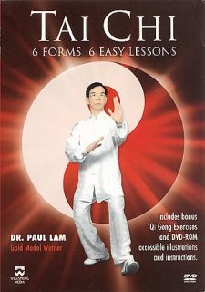 Tai Chi 6 Forms, 6 Easy Lessons DVD, 2000