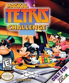 Magical Tetris Challenge Nintendo Game Boy Color, 2000