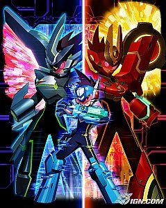 Mega Man Star Force 3 Red Joker Nintendo DS, 2009