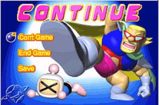 Bomberman Max 2 Blue Advance Nintendo Game Boy Advance, 2002