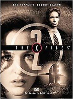 The X Files   The Complete Second Season DVD, 2000, 7 Disc Set